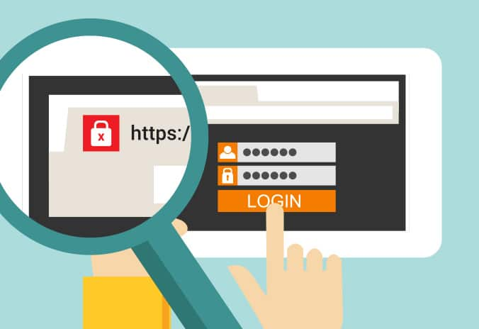Google Chrome now warns users if your site isn't secured with SSL when collecting passwords or credit card numbers