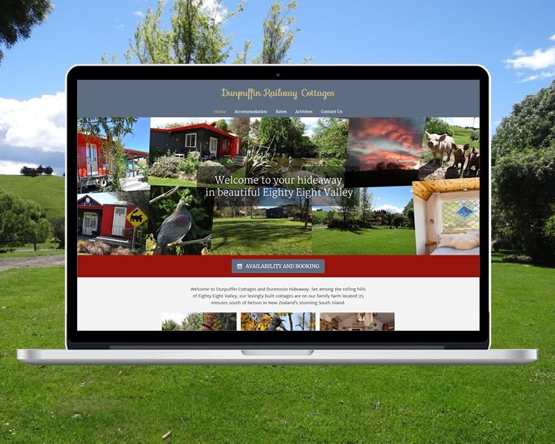 Dunpuffin Website by Slightly Different Ltd