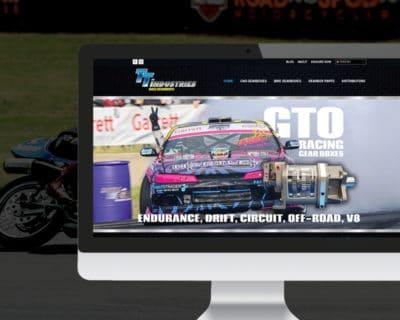 TT Industries Website by Slightly Different Ltd